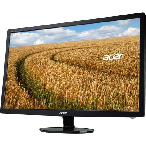 "Acer - 24"" LCD HD Monitor - Black"