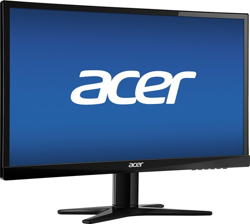 "Acer - 21.5"" IPS LED HD Monitor - Black"