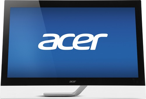 "Acer - 27"" LED HD Touch-Screen Monitor - Black"