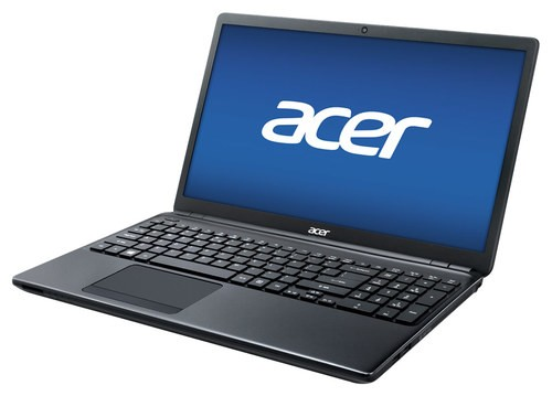 "Acer - 15.6"" Refurbished Laptop - Intel Celeron - 4GB Memory - 500GB Hard Drive - Red"