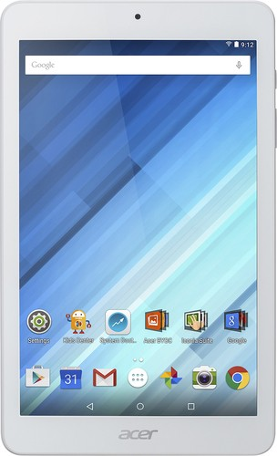 "Acer - Iconia One -  8"" Tablet - 16GB - Wi-Fi - White"