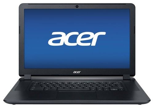 "Acer - 15.6"" Chromebook - Intel Core i3 - 4GB Memory - 32GB Solid State Drive - Black"