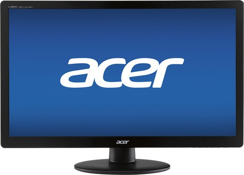 "Acer - 19.5"" LED HD Monitor - Black"