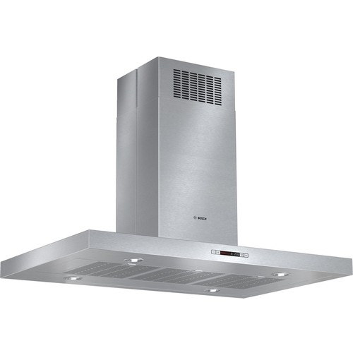 "Bosch - 800 Series 42"" Convertible Range Hood - Stainless Steel"