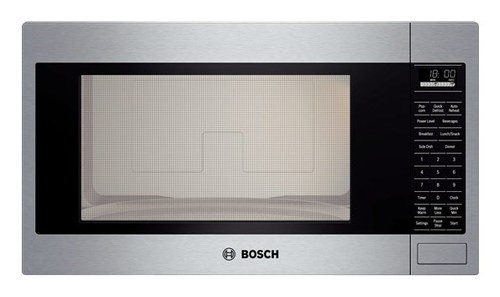 Bosch - 500 Series 2.1 Cu. Ft. Built-In Microwave - Stainless Steel