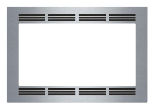 "Bosch - 30"" Trim Kit for HMB5051 Built-In Microwaves - Stainless-Steel"