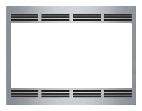 "Bosch - 27"" Trim Kit for HMB5051 Built-In Microwaves - Stainless-Steel"
