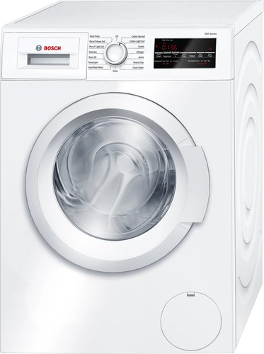 Bosch - 2.2 Cu. Ft. 15-Cycle High-Efficiency Compact Front-Loading Washer - White