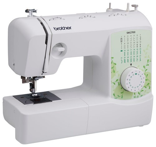Brother - 27-Stitch Sewing Machine - White