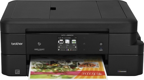 Brother - INKvestment MFC-J985DW Wireless All-In-One Printer