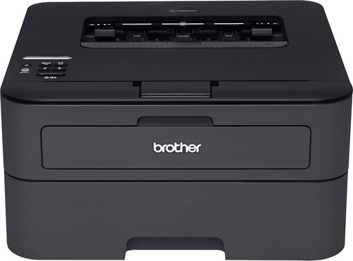 Brother - HL-L2360DW Wireless Mono Laser Printer - Black