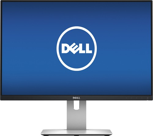 "Dell - UltraSharp U2415 24"" IPS LED HD Monitor - Black"
