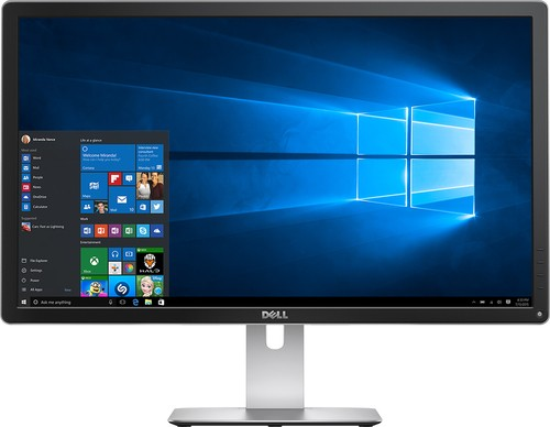 "Dell - 27"" IPS LED 4K UHD Monitor - Black"