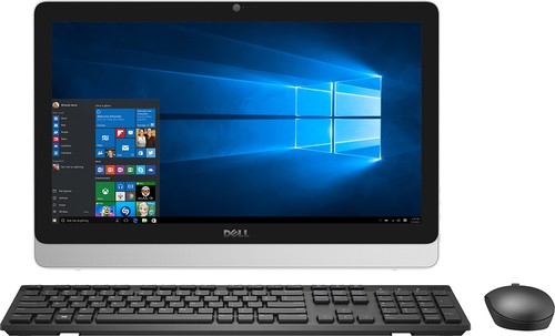 "Dell - Inspiron 19.5"" Portable Touch-Screen All-in-One - Intel Pentium - 4GB Memory - 500GB Hard Drive - White"