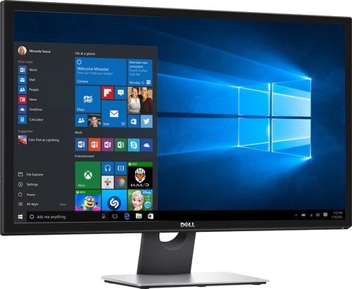 "Dell - 28"" LED 4K UHD Monitor - Black"