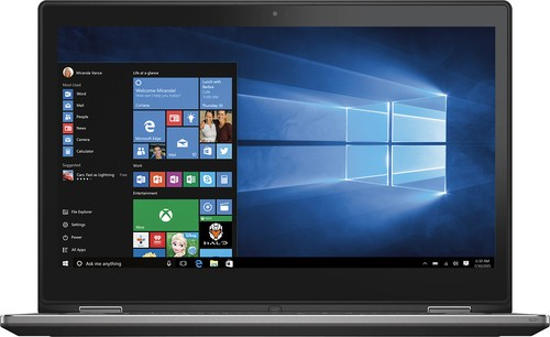 "Dell - Inspiron 2-in-1 13.3"" Touch-Screen Laptop - Intel Core i3 - 8GB Memory - 128GB Solid State Drive - Black"