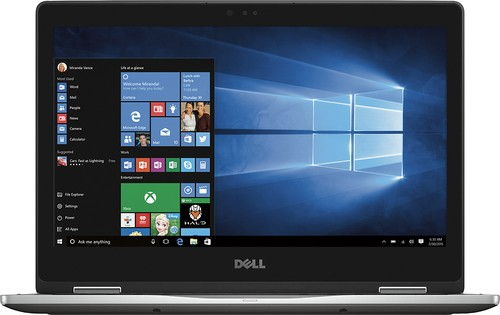 "Dell - Inspiron 2-in-1 13.3"" Touch-Screen Laptop - Intel Core i7 - 12GB Memory - 512GB Solid State Drive - Gray"