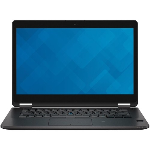 "Dell - Latitude 14"" Laptop - Intel Core i7 - 8GB Memory - 256GB Solid State Drive - Black"
