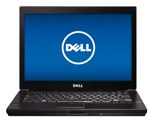 "Dell - Latitude 14.1"" Refurbished Laptop - Intel Core i5 - 8GB Memory - 500GB Hard Drive - Black/Silver"