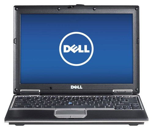 "Dell - Latitude 14.1"" Refurbished Laptop - Intel Core2 Duo - 2GB Memory - 100GB Hard Drive - Brown/Black"