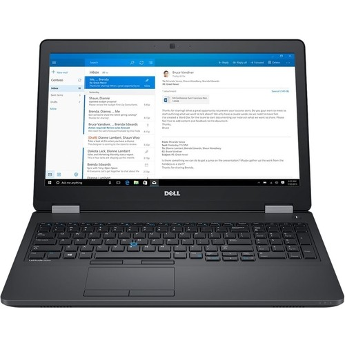 "Dell - Latitude 15.6"" Laptop - Intel Core i5 - 4GB Memory - 500GB Hard Drive - Black"