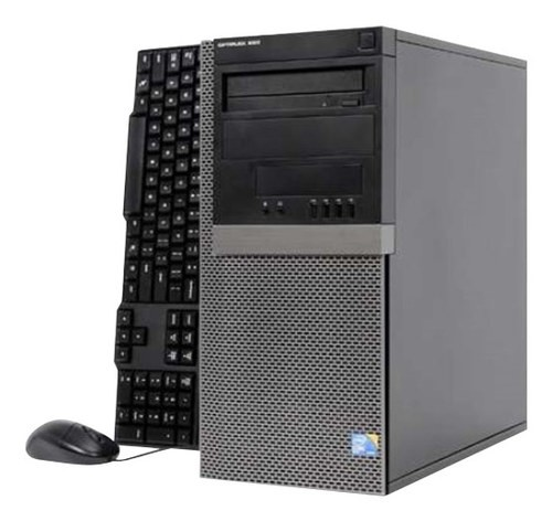 Dell - Refurbished OptiPlex Desktop - Intel Core2 Duo - 4GB Memory - 1TB Hard Drive - Gray/Black
