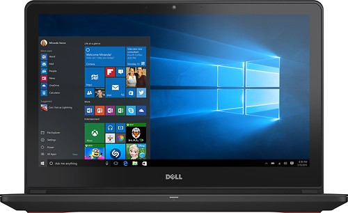 "Dell - Inspiron 15.6"" Laptop - Intel Core i5 - 8GB Memory - 1TB + 8GB Hybrid Hard Drive - Black"