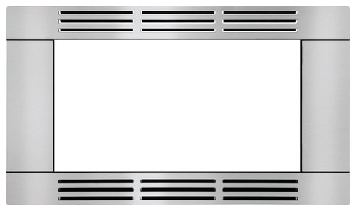 "Frigidaire - 27"" Built-in Trim Kit - Stainless-Steel"