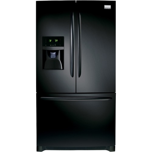 Frigidaire - Gallery 27.2 Cu. Ft. French Door Refrigerator - Ebony
