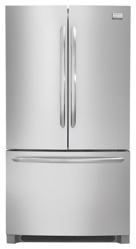 Frigidaire - Gallery 27.7 Cu. Ft. French Door Refrigerator - Stainless Steel
