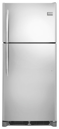 Frigidaire - Gallery 20.4 Cu. Ft. Top-Freezer Refrigerator - Stainless Steel