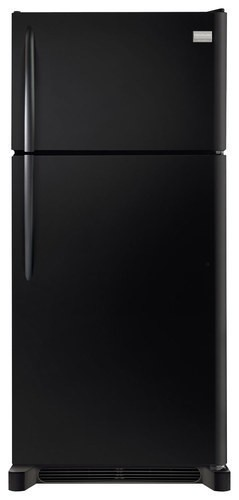 Frigidaire - 18.3 Cu. Ft. Frost-Free Top-Freezer Refrigerator - Black