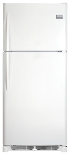 Frigidaire - Gallery 20.4 Cu. Ft. Top-Freezer Refrigerator - White
