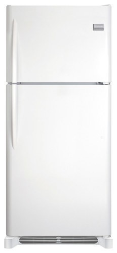 Frigidaire - Gallery 20.4 Cu. Ft. Top-Freezer Refrigerator - Pearl