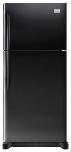 Frigidaire - Gallery 20.4 Cu. Ft. Top-Freezer Refrigerator - Ebony