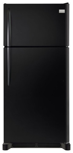 Frigidaire - Gallery 18.3 Cu. Ft. Top-Freezer Refrigerator - Ebony