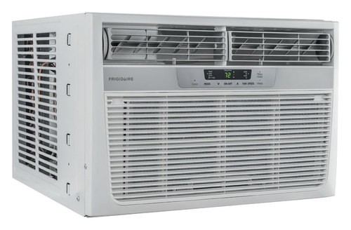 Frigidaire - 8,000 BTU Window Air Conditioner and 3,500 BTU Heater - White