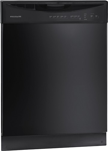 "Frigidaire - 24"" Tall Tub Built-In Dishwasher - Black"