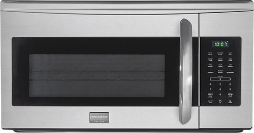 Frigidaire - Gallery 1.7 Cu. Ft. Over-the-Range Microwave - Stainless-Steel