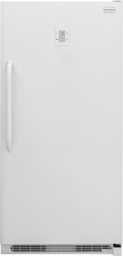 Frigidaire - 16.9 Cu. Ft. Frost-Free Upright Freezer - White
