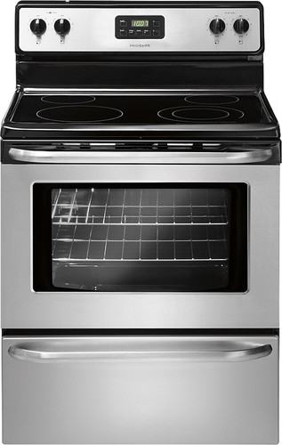 "Frigidaire - 30"" Freestanding Electric Range - Stainless Steel"