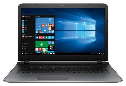 "HP - Pavilion 17.3"" Touch-Screen Laptop - AMD A8-Series - 4GB Memory - 750GB Hard Drive - Natural Silver"