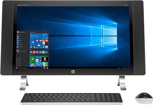 "HP - ENVY 27"" Touch-Screen All-In-One - Intel Core i5 - 12GB Memory - 1TB Hard Drive - Silver"