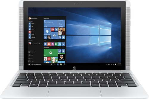"HP - Pavilion x2 - 10.1"" - Tablet - 64GB - With Keyboard - Blizzard White"