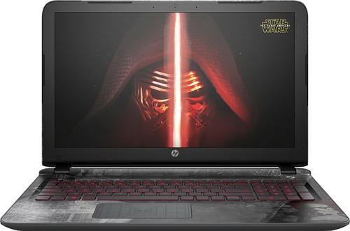 "HP - Star Wars Special Edition 15.6"" Laptop - Intel Core i7 - 8GB Memory - 1TB Hard Drive - Darkside Black"