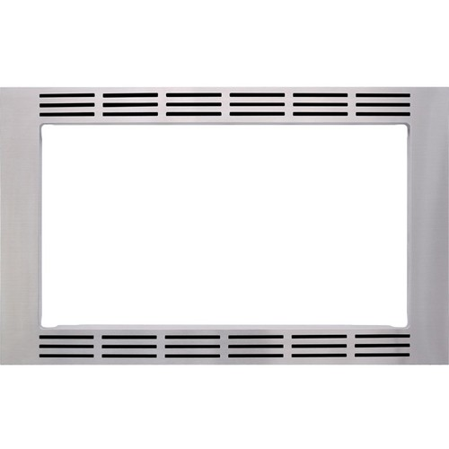 "Panasonic - 30"" Trim Kit for Select Microwaves - Stainless"