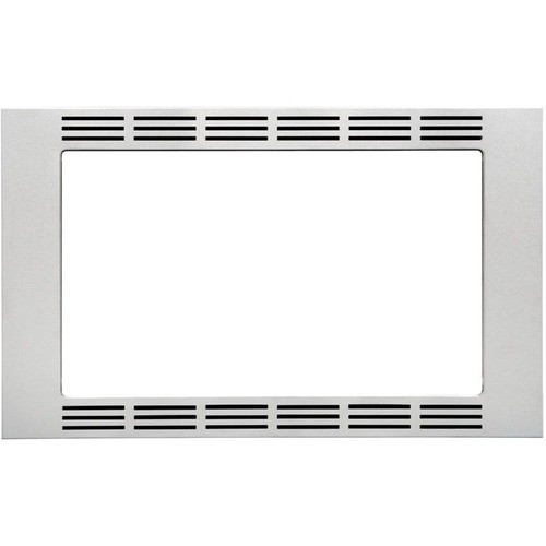 "Panasonic - 27"" Trim Kit for Select Microwaves - Stainless Steel"