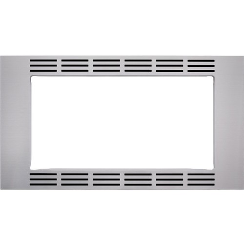 "Panasonic - 30"" Trim Kit for Select Microwaves - Stainless Steel"
