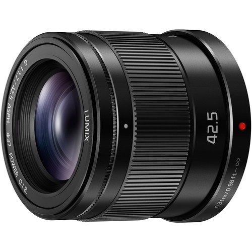 Panasonic - Lumix 42.5mm f/1.7 G ASPH. Optical Telephoto Lens For Micro Four Thirds - Black