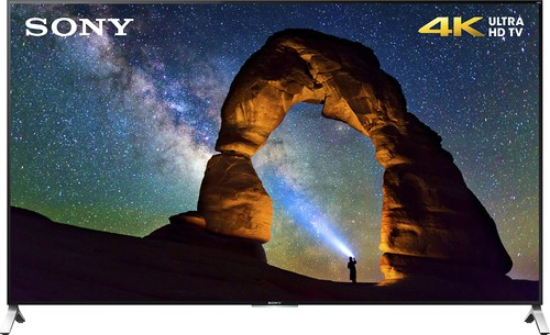 "Sony - 55"" Class (54-1/2"" Diag.) - LED - 2160p - Smart - 3D - 4K Ultra HD TV with High Dynamic Range - Black"